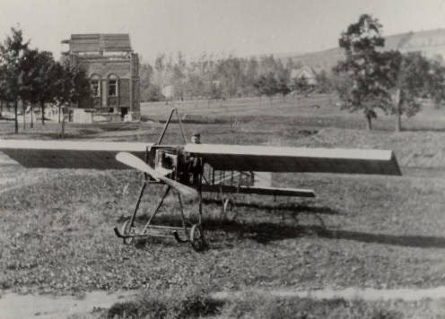 Fred Burns Plane in Brandon Park