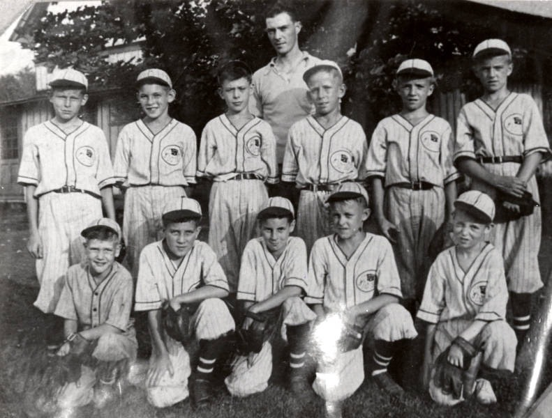 Jumbo Pretzel Company Little League team 1939